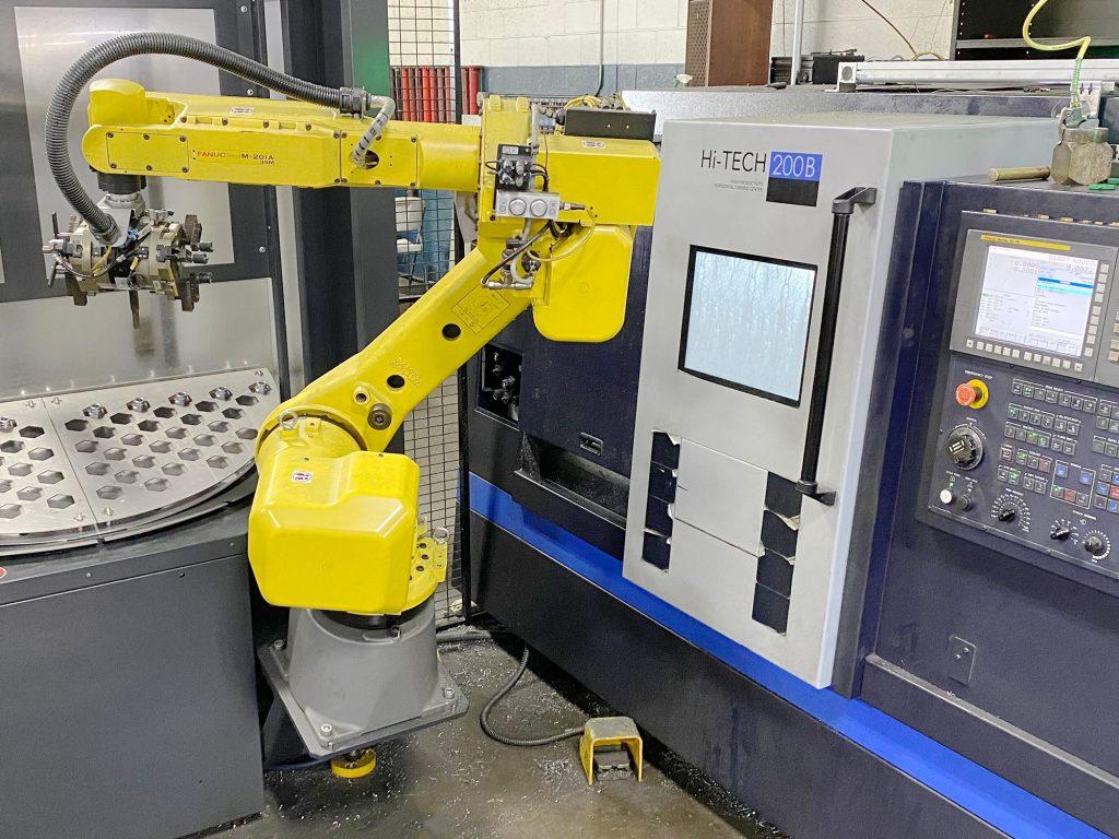 CNC Machine Robotic Arm Technology